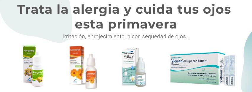 Colirios y gotas antialérgicas