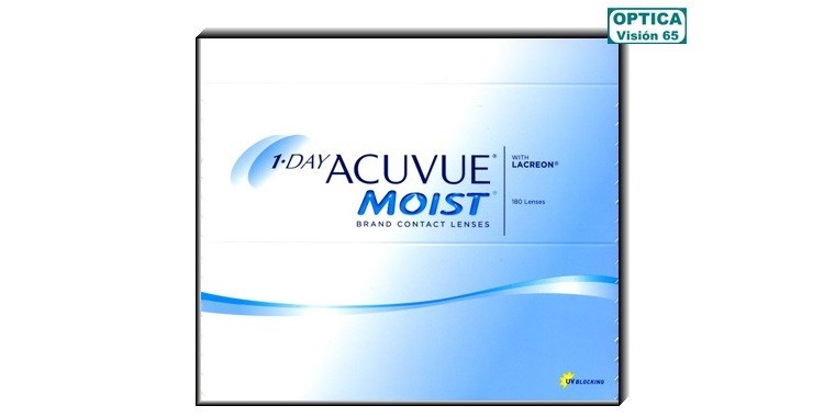 1-Day Acuvue Moist (180+15)