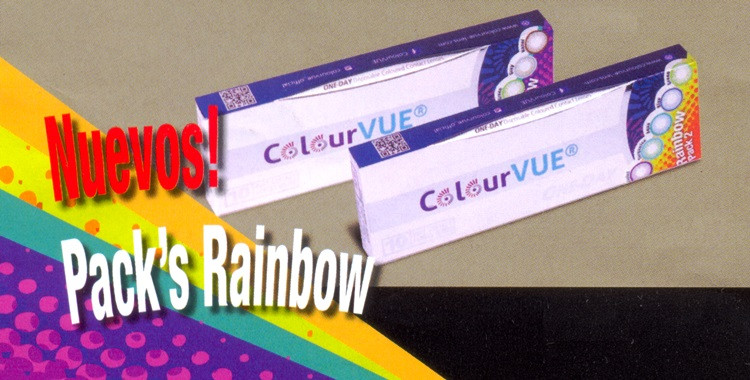ColourVUE ONE-DAY Trublends Rainbow (10)