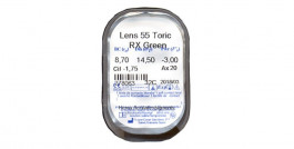 Lens 55 Toric Colors RX