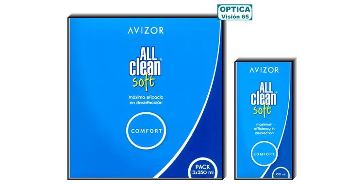 All Clean Soft Tripack (3 x 350ml) + Kit Viaje