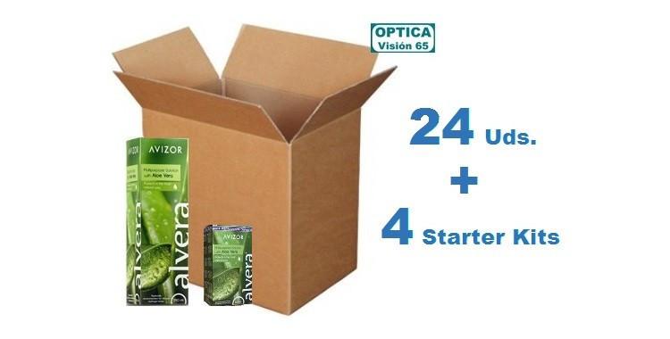 Alvera 350ml x 24 Pack + 4 Starter kits