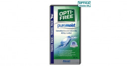 Opti-Free Pure Moist 90ml - Kit de Viaje